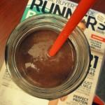 Chocolate Cherry Zucchini Smoothie  (a.k.a. Chocolate Shake)