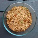 Veggies for Breakfast: Zucchini Bread Baked Oatmeal
