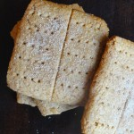 Homemade Vegan Graham Crackers