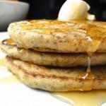 Lemon Poppy Seed and Yogurt Pancakes
