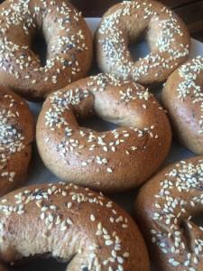 vegan whole wheat bagel recipe center