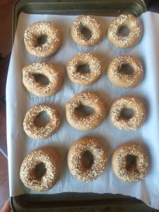 vegan whole wheat bagel recipe cooked