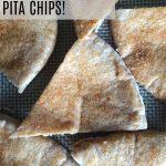 Homemade Cinnamon and Sugar Pita Chips