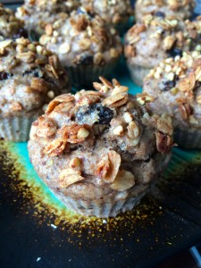 Banana Granola Muffins