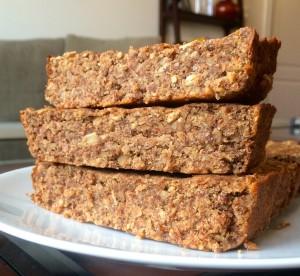 Gingerbread Oatmeal Bars