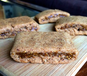 Homemade Whole Wheat Fig Newtons