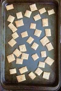 Whole Wheat Oatmeal Crackers