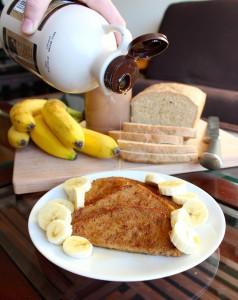 Simple Vegan French Toast