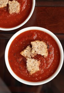 Spicy Blender Tomato Soup 3