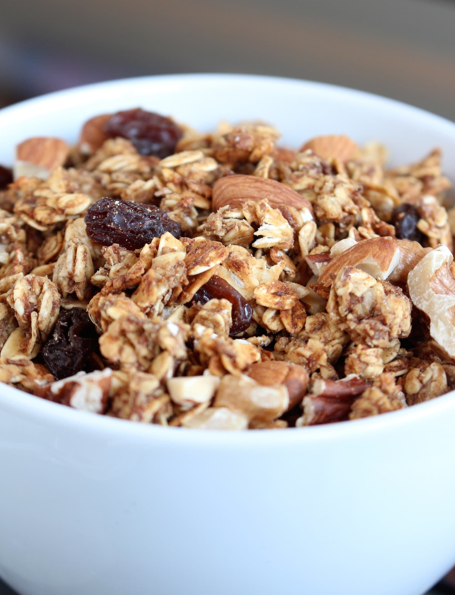 Date Sweetened Nutty Apple Granola 5