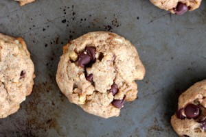 Maple Syrup Whole Wheat Vegan Chocolate Chip Cookies 5