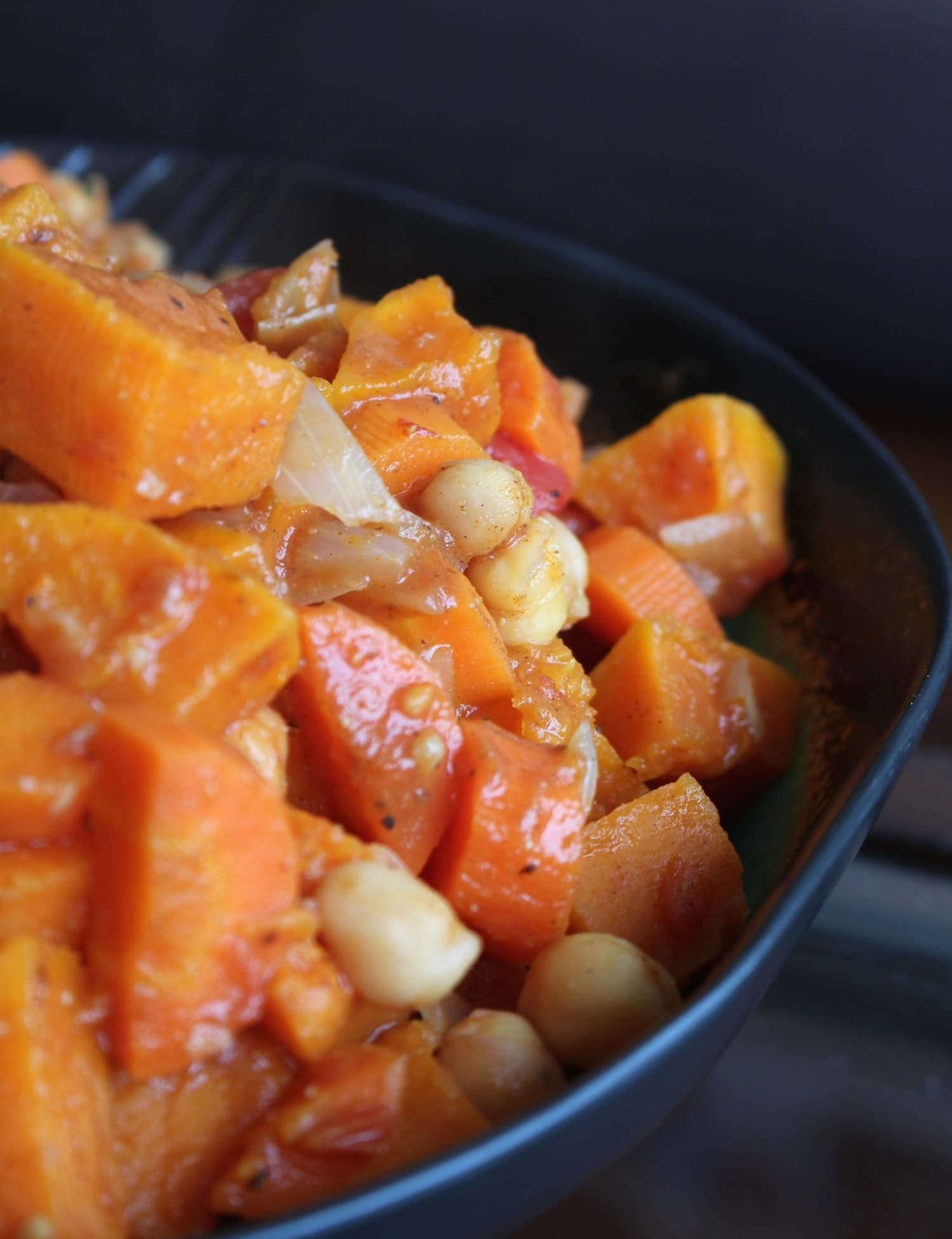 Moroccan Butternut and Chickpea Stew