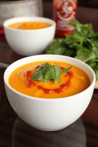 Spicy Thai Carrot Soup 3