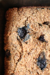 Wheat Bran Blueberry Banana Bread 10