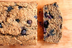 Wheat Bran Blueberry Banana Bread 3