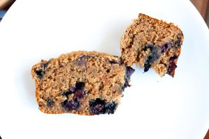 Wheat Bran Blueberry Banana Bread 6