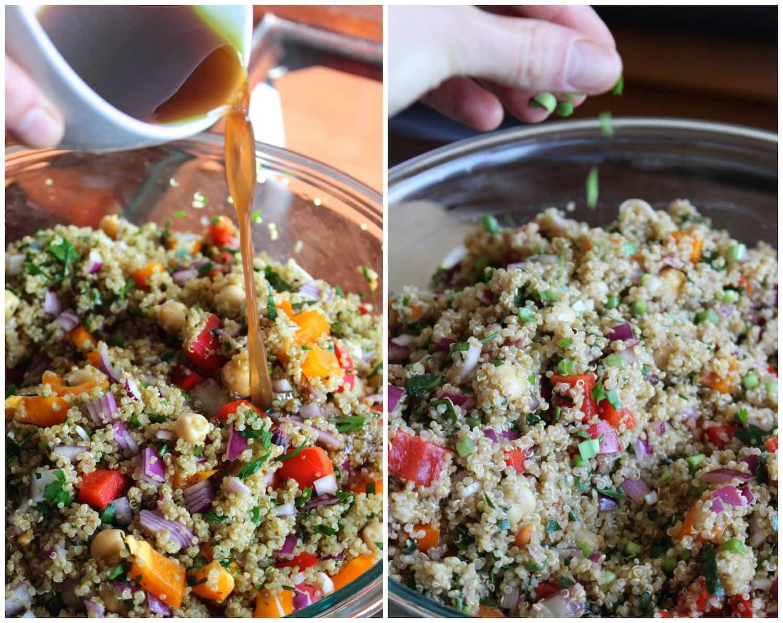 Easy vegan mediterranean quinoa salad forumfinder Gallery