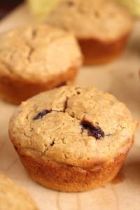Low-Fat Vegan PB & J Muffins 3