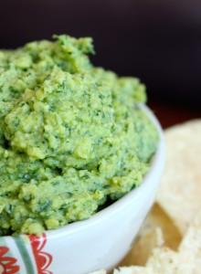 Oil-Free Tahini-Free Cilantro Lime Hummus 2