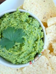 Oil-Free Tahini-Free Cilantro Lime Hummus 5