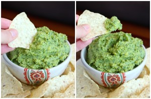 Oil-Free Tahini-Free Cilantro Lime Hummus Collage