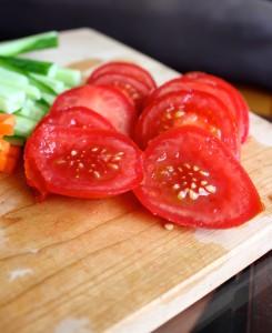 Raw Vegan Veggie Collard Wraps 8