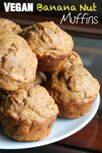 Vegan Banana Nut Muffins 5