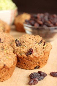 Vegan Zucchini Bread Bran Muffins 3