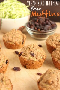 Vegan Zucchini Bread Bran Muffins 6