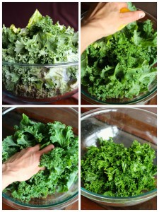 How to Prepare Kale Collage