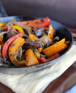 Vegan Portobello Mushroom Fajitas 2