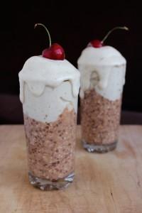 Chocolate Overnight Oats with Banana Ice Cream 3