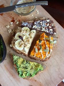 Creative Plant-Based Toast Ideas 2