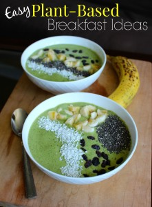 Easy Plant-Based Breakfast Ideas