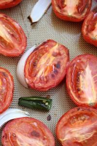 Easy Roasted Tomato Blender Salsa 6