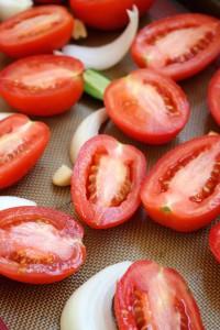 Easy Roasted Tomato Blender Salsa 7