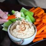 Oil-Free Harissa Spiced Hummus