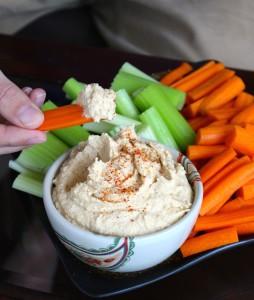 Oil-Free Harissa Spiced Hummus 1