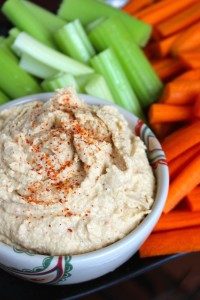 Oil-Free Harissa Spiced Hummus 3