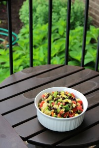 Simple Black Bean and Corn Salad 1