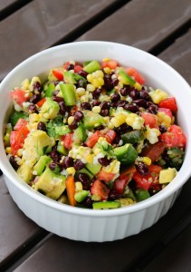 Simple Black Bean and Corn Salad 3