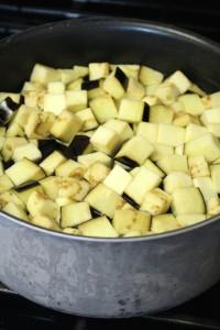 Traditional Moroccan Eggplant Salad 2