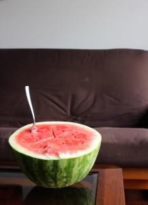 watermelon for easy plant-based breakfast idea