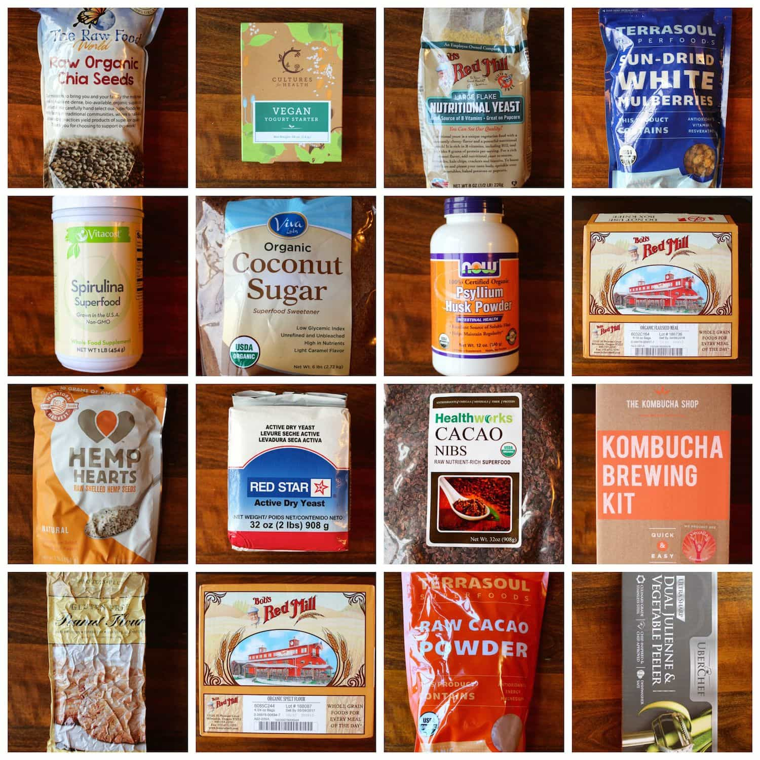 Staples For A Plant Food Based Diet