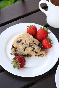 Vegan Blueberry Corn Scones 2