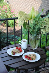 Vegan Blueberry Corn Scones 3