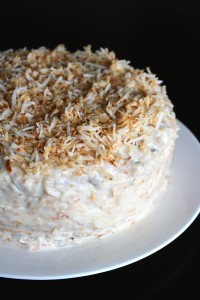 Vegan and Gluten-Free Coconut Birthday Cake 1