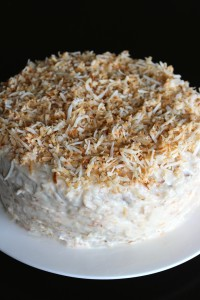 Vegan and Gluten-Free Coconut Birthday Cake 2