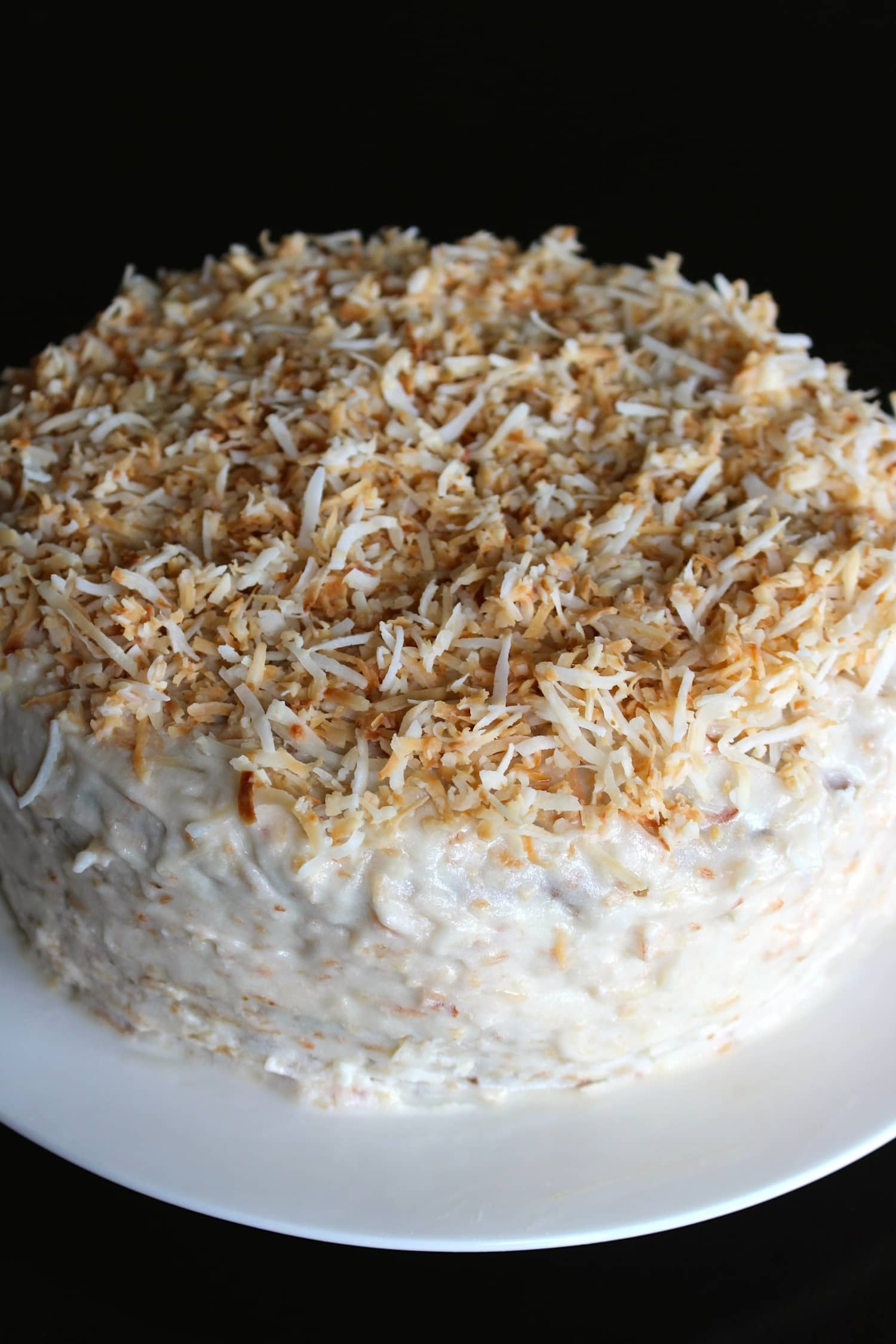Vegan and Gluten-Free Coconut Birthday Cake