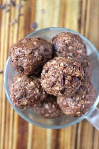 Chocolate Tahini Brownie Bites 5